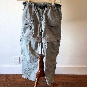 Awesome EMS hiking pants w/ zipoff legs for shorts